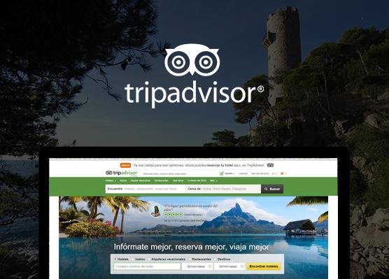 Master Camping 100% integrado con Trip Advisor